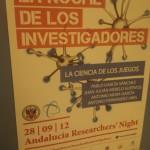 La noche de los investigadores - La ciencia de los juegos